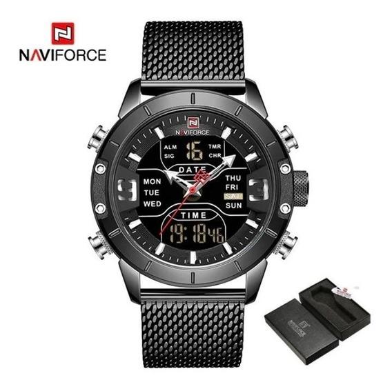 Relógio Masculino Naviforce Nf9153 Lançamento 2019