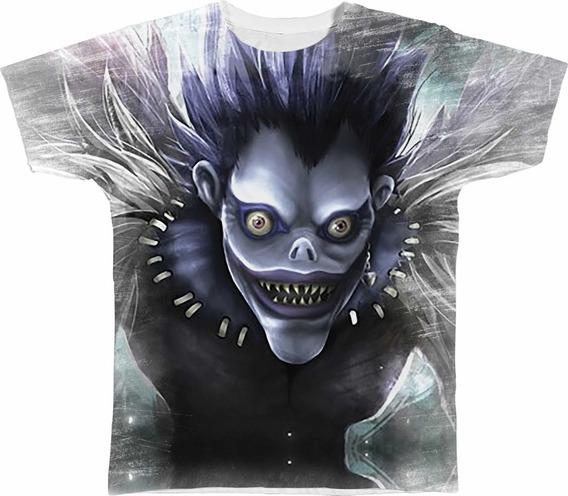 Camisa Camiseta Personalizada Ryuk Death Note Anime Manga