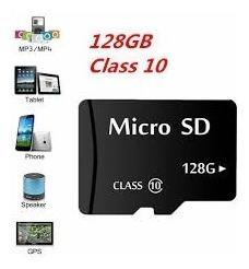 Memoria Micro Sd 128 Gb Clase 10 Nueva