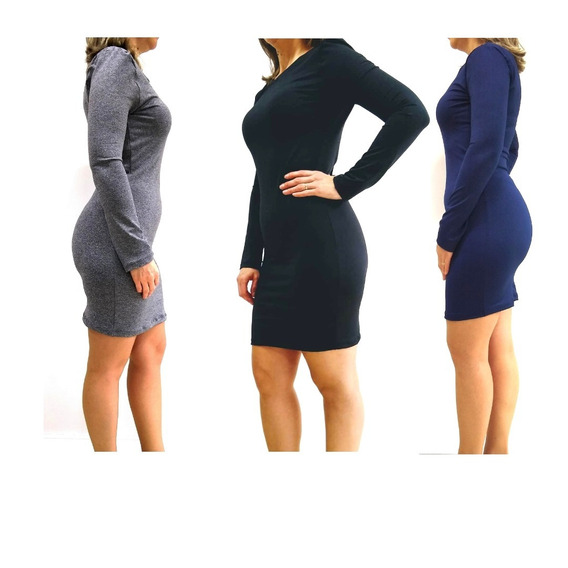 Roupa Feminina Direto De Fábrica No Atacado - Vestido Suplex