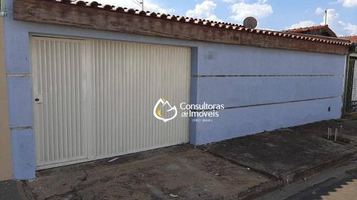Casa Com 3 Dormitórios À Venda, 144 M² Por R$ 380.000,00 - Nova Veneza - Paulínia/sp - Ca1644