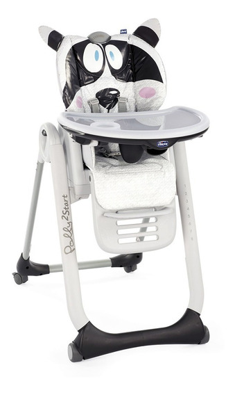 Silla De Comer Bebe Polly 2 Start Chicco Reclinable Plegable
