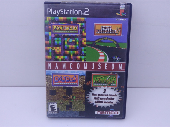 Namco Museum Do Ps2 Original Mídia Física (usado)