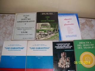 Libros De Derecho Usados En Buen Estado