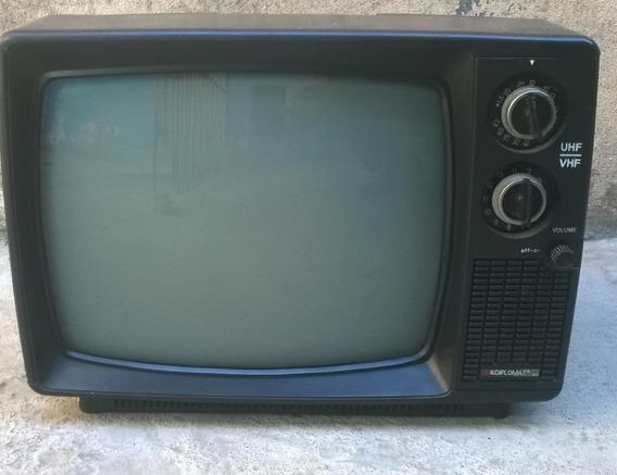 Tv Portatil Vintage - Diplomat Dl Television 12 Mini