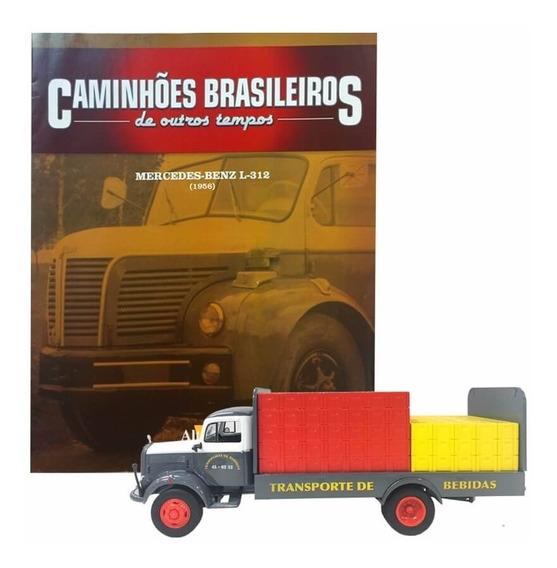 Caminhões Brasileiros - Ed.7 - Mercedes-benz L312 Bebidas