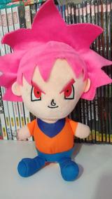 Goku Black Super Dragon Ball Z Pelúcia 15cm