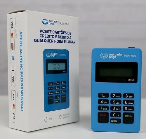 Kit 10 Point Mini D150 - Revenda - Máquina De Cartão