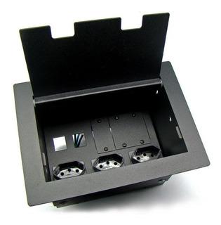 Caixa Painel Multi Conexão Oct02brammh2ru 20a Kit Especial