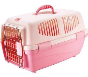 Caixa Transporte Pet Gulliver Tamanho 1 Porta Ferro Cão Gato