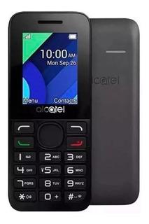 Celular Para Idoso Alcatel 1054d 1.8 Dual Chip Preto Top