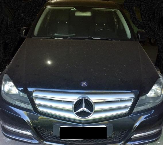 Mercedes Benz C200 11/12 Com Bloco Do Motor Avariado.