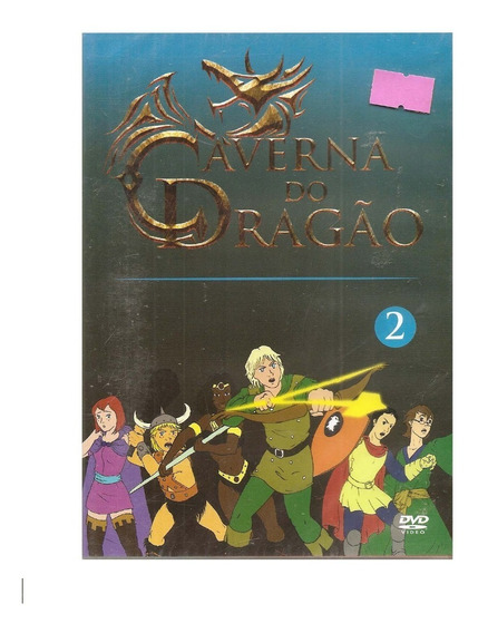 Dvd A Caverna Do Dragão 2