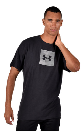 Playera Under Armour Hombre 1297954001 Negro