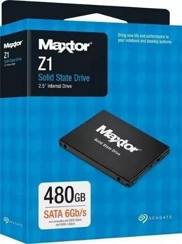 Ssd Maxtor Sata Z1 480gb - Seagate - Ya480vc1a001
