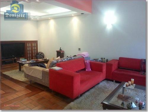 Sobrado Com 3 Dormitórios À Venda, 250 M² Por R$ 1.280.000,10 - Vila Bastos - Santo André/sp - So1077