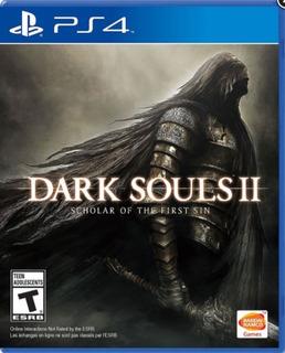 Dark Souls Ii: Scholar Of The First Sin Ps4 Nuevo Y Sellado