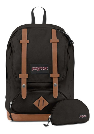 Zonazero Mochilas Jansport Baughman Black Canvas