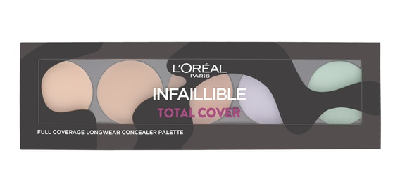 Paleta Correctora Infallible Total Cover Loreal Paris