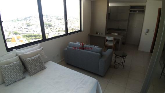 Apartamento Com 1 Quartos Para Comprar No Centro Em Belo Horizonte/mg - 18477