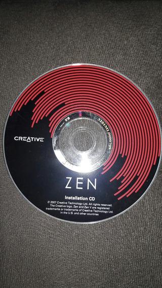 Zen Installation Cd Creative Unboxing Frete Grátis