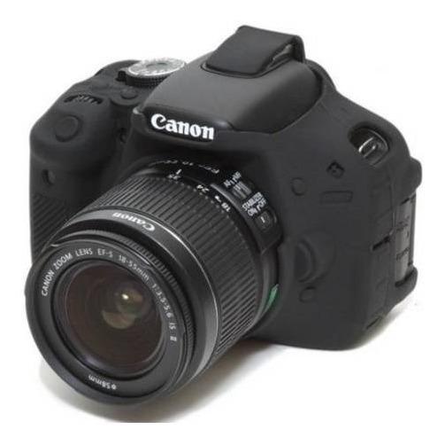 Capa / Case Silicone Para Proteção Canon T5i / T4i