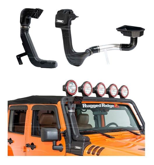 Snorkel Jeep Wrangler 2007 - 2018 Rugged Ridge Bajo Y Alto