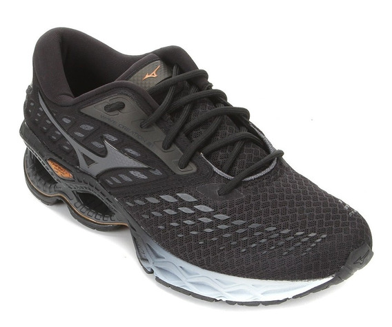 Tênis Mizuno Wave Creation 21 Masculino - Preto