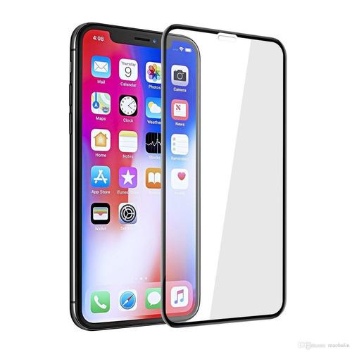 Imagen 1 de 4 de Vidrio Templado 5d 9h Vidrio Curvo iPhone 11 Pro 11 Pro Max