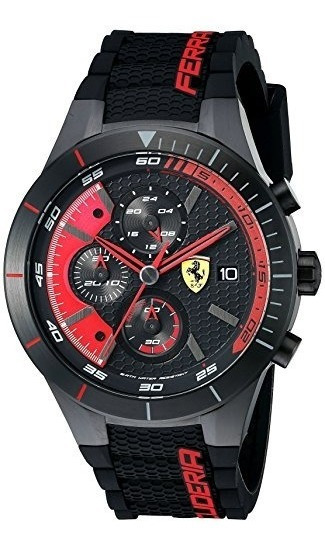 Joyas Y Relojes,hombres Ferrari 0830260 Redrev Evo Analo..