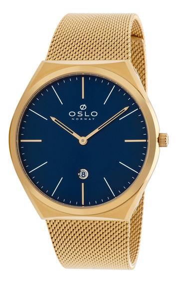 Relógio Oslo Omgsss9u0004 D1kx Aco Inox Feminino