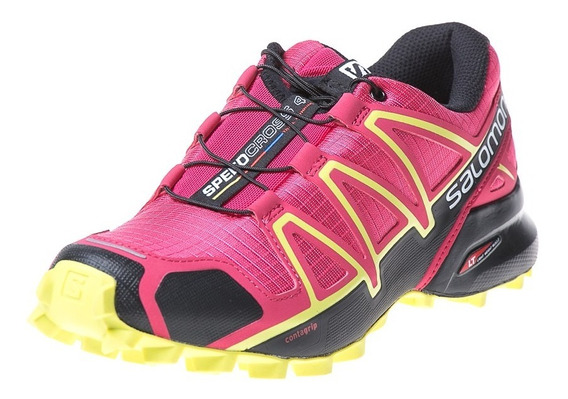 Zapatilla Salomon Speedcross 4 Woman Rojo