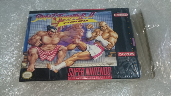 Street Fighter 2 Turbo Cib Snes