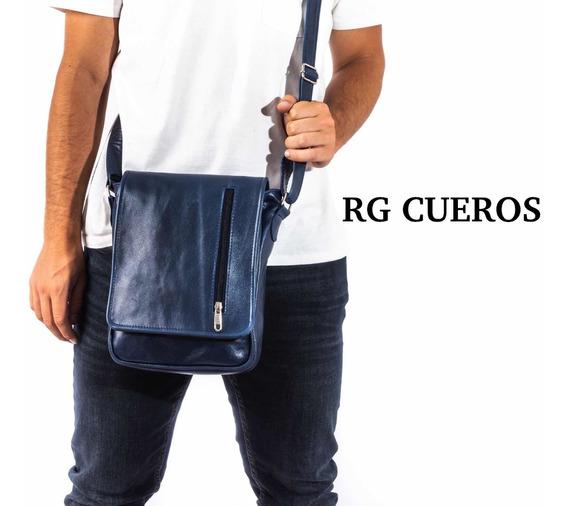 Morral De Cuero Legitimo - Tamaño Chico - Rg Cueros