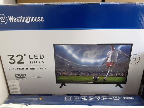 Televisor Tv Westinghouse 32 Pulgadas Led Hd Dvd Incorporado
