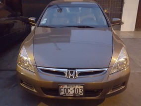 Honda Accord 2007 - Motor 2.4 I-vitech - Precio Negociable