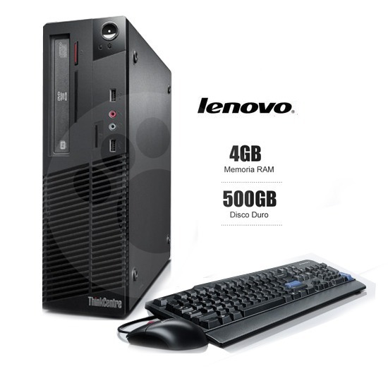Cpu Lenovo Thinkcentre M83p Core I5-4570 4gb/500gb 6m Gntia