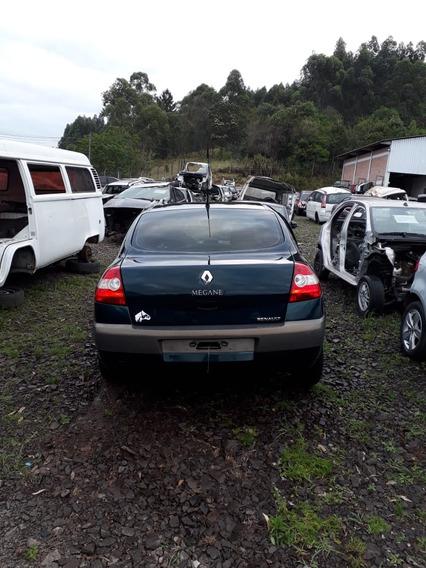 Sucata Renault Megane 1.6 Flex 2007 Rs Caí Peças