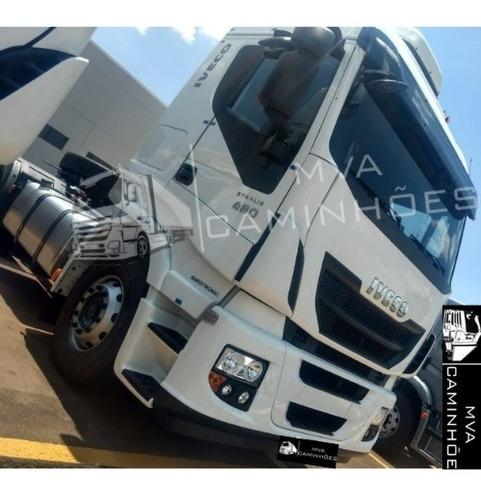 Imagem 1 de 5 de Caminhão Iveco Strallis 480 Teto Alto - 6x4 T