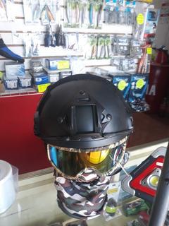 Casco Ligero Tipo Fast Color Negro