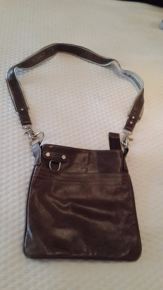 Morral Blaque Marron Excelente Estado