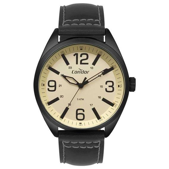 Relógio Condor Masculino Couro Preto Co2035mpe/2d