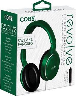 Coby Cvh808grn Audífonos De Diadema, Verde