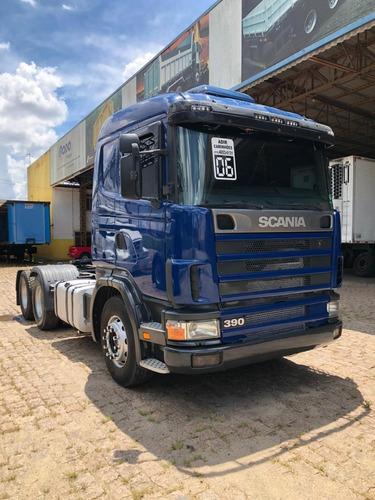 Scania - R 124 - 420 - 6x2 - Ano 2006 950.000 Km
