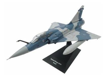 Miniatura Avião Jato Mirage Fab 2000c Novo!