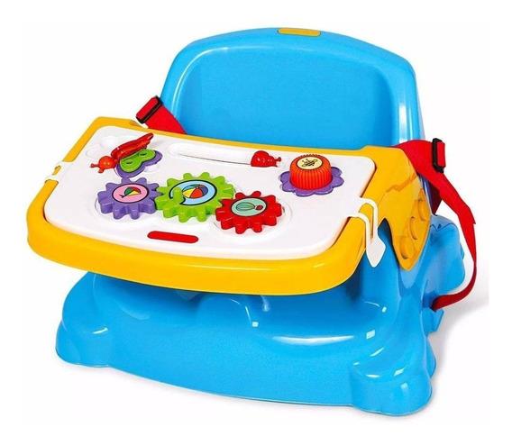 Cadeira De Alimentação Didática Azul Poliplac