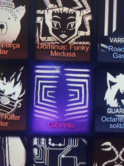 Decalque (labirinto) Black Market - Rocket League Xbox One