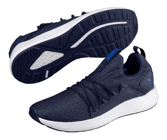 Zapatillas Puma Nrgy Neko Knit Azul Hombre - Corner Deportes
