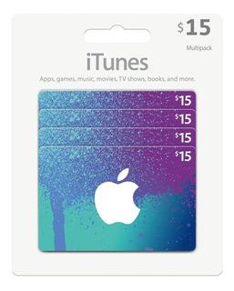 Tarjeta Itunes $15 Gift Card Apple Store Usa