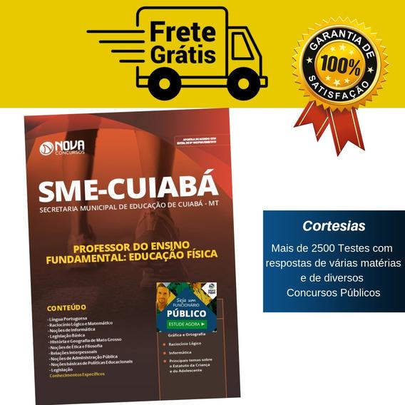 Apostila Professor Educação Física Sme Mt 2019 - Cuiabá